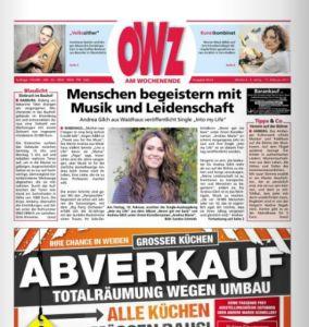 """Screenshot """"OWZ Wochenende - Nord"""" - Direktlink"""