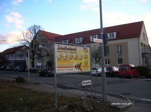 Werbeschild an der Heubachgasse - Mit einem Mouseklick vergrößerbar!