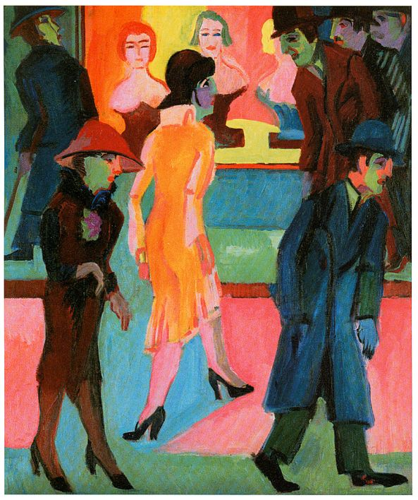 857px-Kirchner_-_Straßenbild_vor_dem_Friseurladen_-_1926